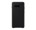 Samsung Leather Cover do Galaxy S10+ czarny (EF-VG975LBEGWW)