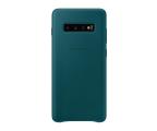 Samsung Leather Cover do Galaxy S10+ zielony (EF-VG975LGEGWW)