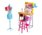 Barbie Zestaw mebelków Studio Projektantki (FJB25 FXP10)