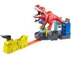 Pojazd / tor i garaż Hot Wheels City Atak T-Rexa