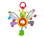 Zabawka dla małych dzieci Dumel BaliBaZoo Zawieszka Motyl Lulu