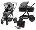 Kinderkraft Veo 2w1 Black/Gray (5902533909452)