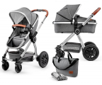 Kinderkraft Veo 2w1 Gray (5902533909445)