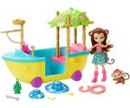 Mattel Enchantimals Tropikalna łódka (GFN58)