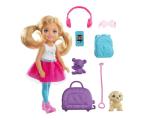 Barbie Lalka Chelsea w podróży z akcesoriami (FWV20)