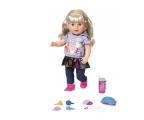 Zapf Creation Baby Born Interaktywna siostrzyczka blondynka (824603 4001167824603)