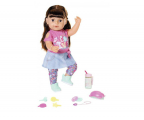 Zapf Creation Baby Born Interaktywna siostrzyczka brunetka (4001167827185)