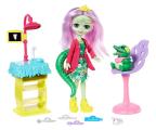 Mattel Enchantimals Wizyta u dentysty Lalka+Krokodyl (FCC62 GFN55)