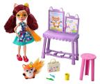 Mattel Enchantimals Pracownia artystyczna Lalka+Lis (FCC62 GBX03)