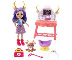 Mattel Enchantimals Przychodnia dla zwierząt Lalka+Jeleń (FCC62 GBX04)