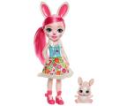 Mattel Enchantimals Wonderwood Lalka Bree Bunny 31 cm (FRH51 FRH52)