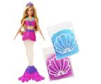 Lalka i akcesoria Barbie Syrena Brokatowy slime Lalka