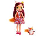 Mattel Enchantimals Wonderwood Lalka Felicity Fox 31 cm (FRH51 FRH53)