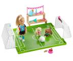 Lalka i akcesoria Barbie Chelsea Boisko do piłki nożnej Zestaw