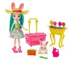 Mattel Enchantimals Wonderwood Wiosenne króliczki Zestaw  (GJX32 GJX33)