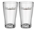 WMF Zestaw 2 szklanek do latte macchiato Barista (4000530628619)