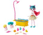 Mattel Enchantimals Harvest Hills Radosna Kąpiel Świnek (GJX35 GJX36)