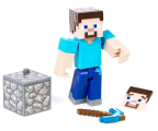 Mattel Minecraft Comic Maker Steve (GCC11 GCC13)