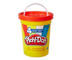 Play-Doh Classic 4 kolory w wiaderku  (E5045 E5207)