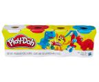 Play-Doh Ciastolina Tuby uzupełniająca 4pack 1 (B6508)