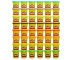Play-Doh Ciastolina Tuby uzupełniające 48pack  (B9017)