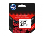 HP 652 black 360str. (F6V25AE#BHK	)