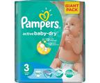 Pampers Active Baby Dry 3 Midi 4-9kg 90szt (4015400736226 GP)