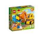 LEGO DUPLO Ciężarówka i koparka gąsienicowa (10812)