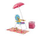 Barbie Akcesoria Wypoczynkowe Plaża (DXB69 DVX49)
