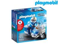 PLAYMOBIL Motor policyjny ze światłem LED - 344868 - zdjęcie 1