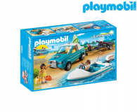 PLAYMOBIL Surfer-Pickup z motorówką - 344820 - zdjęcie 1