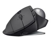 Logitech MX Ergo Wireless Trackball grafitowa - 388627 - zdjęcie 3