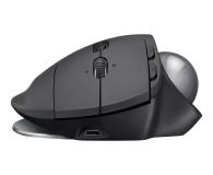 Logitech MX Ergo Wireless Trackball grafitowa - 388627 - zdjęcie 4