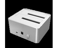 """Unitek Stacja na 2x dysk 2.5""""/3.5"""" (USB-C, klonowanie)  - 385720 - zdjęcie 2"""
