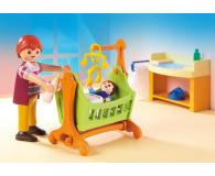 PLAYMOBIL Pokój dla niemowlaka z łóżeczkiem - 386219 - zdjęcie 4