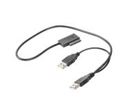 Gembird Adapter USB(M)+Power -> SATA Slim SSD (na kablu) - 392917 - zdjęcie 1