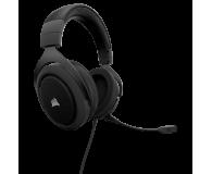 Corsair HS50 Stereo Gaming Headset (czarne) - 393727 - zdjęcie 3