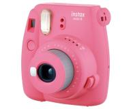 Fujifilm Instax Mini 9 różowy + wkład 10PK + pokrowiec - 393614 - zdjęcie 3