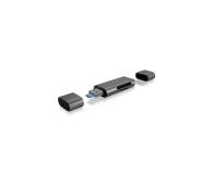 ICY BOX Czytnik kart microSD USB (microUSB) - USB C - 395674 - zdjęcie 3