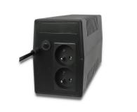 Qoltec Monolith 850VA 480W 2 x FR - 397369 - zdjęcie 2
