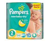 Pampers New Baby Dry 2 Mini 3-6kg 100szt - 399322 - zdjęcie 1