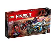 LEGO Ninjago Wyścig uliczny Wężowego Jaguara - 395156 - zdjęcie 1