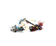 LEGO Ninjago Wyścig uliczny Wężowego Jaguara - 395156 - zdjęcie 4