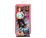 Barbie Made to Move błękitny top - 363783 - zdjęcie 4