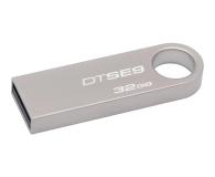 Kingston 32GB DataTraveler SE9 (Metalowy) - 105692 - zdjęcie 1