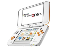 Nintendo New 2DS XL White & Orange - 374636 - zdjęcie 3