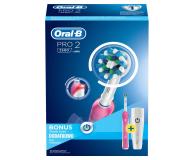 Oral-B Pro 2500 Pink + Pasta do zębów - 474592 - zdjęcie 4