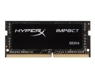 HyperX 16GB 2666MHz Impact Black CL15 1.2V - 345942 - zdjęcie 1