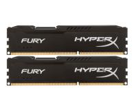 HyperX 16GB (2x8GB) 1600MHz CL10 Fury Black - 180491 - zdjęcie 1