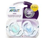 Philips Avent Smoczek Ortodontyczny 0-2m+ 2szt Niebieski - 329080 - zdjęcie 6